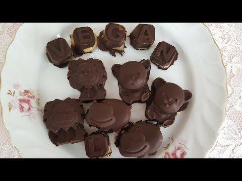 Fıstık Ezmeli Vegan Çikolata ( Reese's ve Zihni Sinir İçerir )