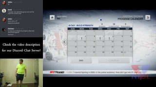 NFGL Live: UFC Personal Trainer (2011, Nintendo Wii) #23