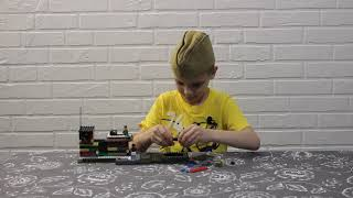 Лего самоделка на тему , великая отечественная война. Lego World War