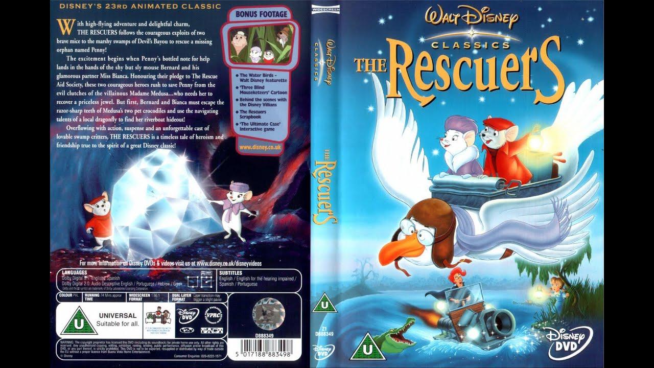 Download Start of Walt Disney's The Rescuers (film 1977)(DVD FR)