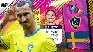 FIFA 18 HERO IBRAHIMOVIC REVIEW | 96 CLASSIC HERO IBRAHIMOVIC PLAYER REVIEW | FIFA 18 ULTIMATE TEAM