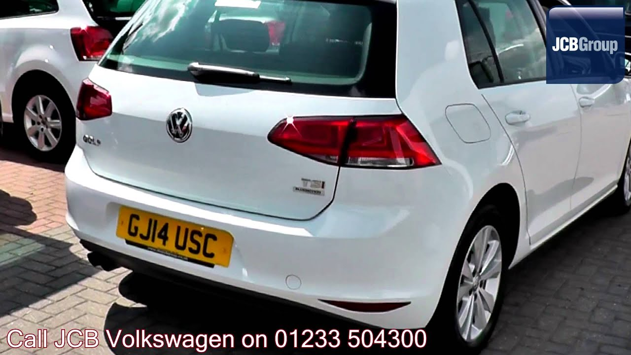 2014 volkswagen golf se pure white gj14usc for sale. Black Bedroom Furniture Sets. Home Design Ideas