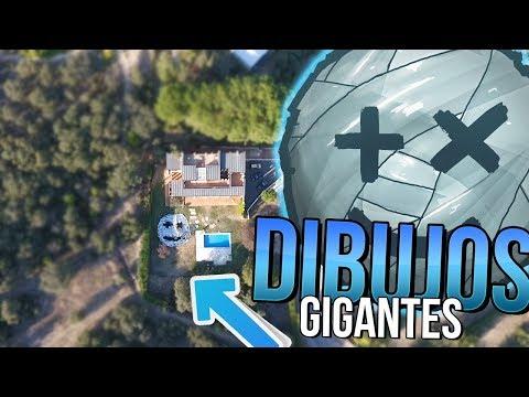 DIBUJOS A 100 METROS DE ALTURA!! EL JEREEMY MAS GRANDE DEL MUNDO [bytarifa]