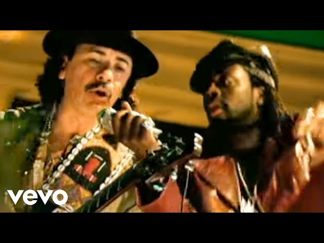 Santana - Maria Maria ft. The Product G&B (Official Video)
