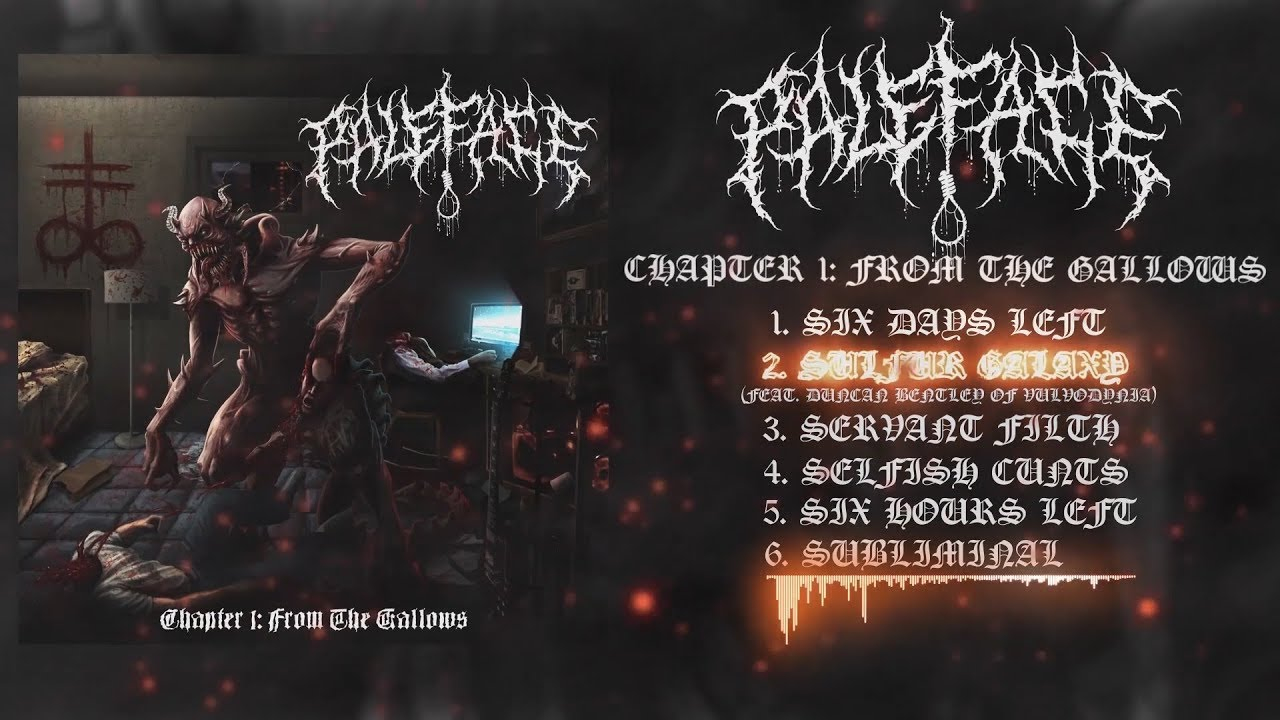 PALEFACE - CHAPTER 1: FROM THE GALLOWS [OFFICIAL EP STREAM] (2018) SW EXCLUSIVE