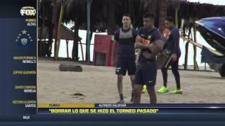 Alfredo Saldívar, guarda meta de Pumas dijo sentirse comprometido