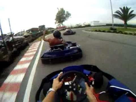 Karting in Funny Beach
