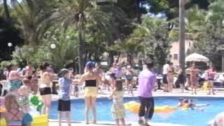 Chocolatte - Ola Club Maioris, Majorca - Pool Dance 2012