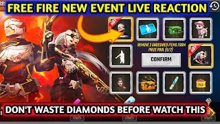 Free fire new event full details || Don't waste Diamonds before watch this