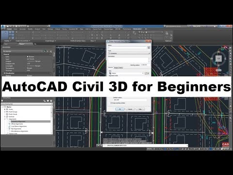 AutoCAD Civil 3D Tutorial for Beginners Complete