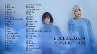 BOLBBALGAN4 PLAYLIST NEW