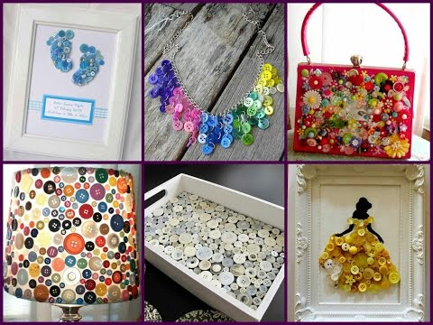 recycled-button-crafts-ideas---easy-diy-button-projects