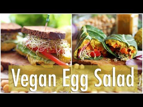 Easy Vegan Egg Salad | Healthy Lunch Ideas Collab w/The Edgy Veg