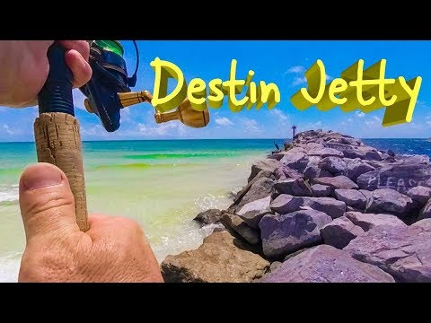Fishing The Destin East Jetty - A Challenge In Its Own Right