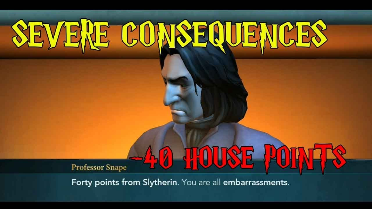 Harry Potter Hogwarts Mystery Severe Consequences Side Quest