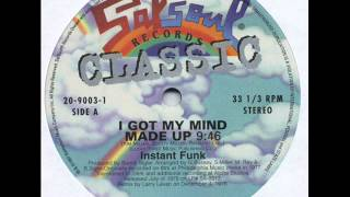Instant Funk - I Got My Mind Made Up (Larry Levan mix)