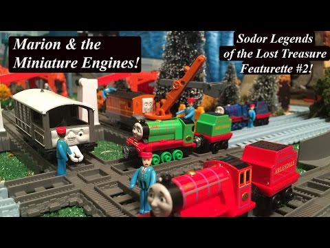 Thomas and Friends Sodor's Legend of the Lost Treasure Featurette#2-Marion & the Miniature Engines!