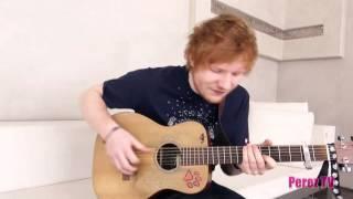 Ed Sheeran You Need Me I Don T Need You Exclusive Perez Hilton Performance