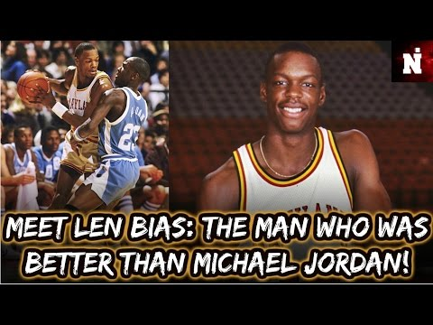 Meet Len Bias: The Man Who Was Better Than Michael Jordan !