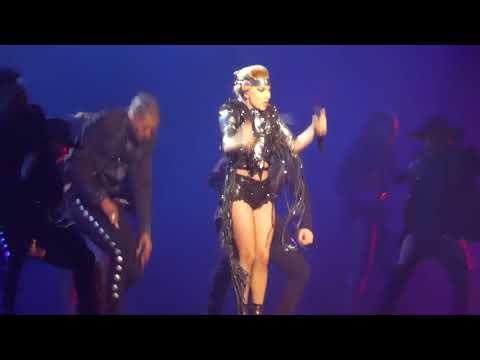 """Poker Face & Perfect Illusion"" Lady Gaga@Capital One Arena Washington DC 11/19/17"