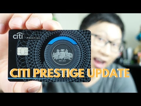 Citi Prestige Updates: 75k Signup Bonus + Online 4th Night Free + Metal Card