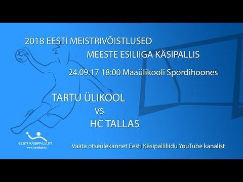 2018 EESTI MEISTRIVÕISTLUSED MEESTE ESILIIGA KÄSIPALLIS