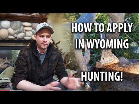 How To Apply In Wyoming - Deer, Elk, Antelope