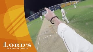 GoPro Cricket - Umpire Cam - MCC v Middlesex | Champion County Tour 2017