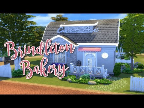 BRINDLETON BAKERY & CAFE || The Sims 4 Community Lot Speed Build