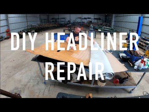 DIY Volvo headliner / roof liner repair / replace XC90 / XC70 / V70