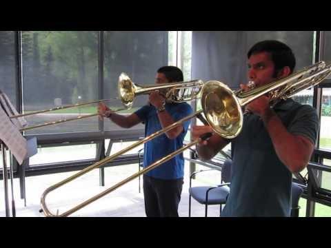Conversation for Tenor and Bass Trombone