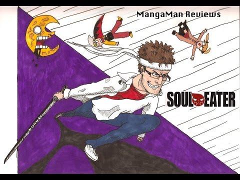 MangaMan Reviews Soul Eater the Manga Ch.1 part 1