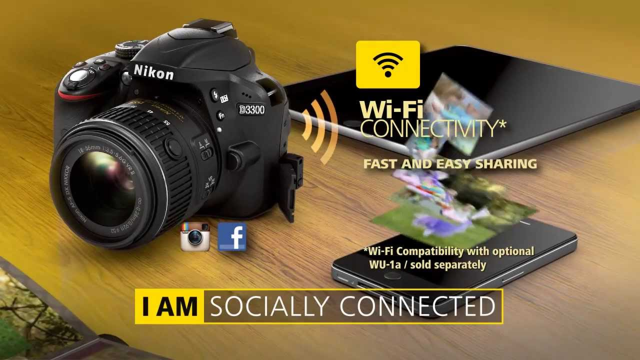 Nikon: New Firmware Update Version 1 01 for Both Cameras D3300 (2016