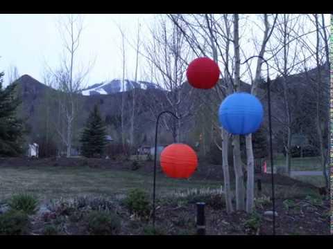 Soji Solar Lanterns Original From Allsop Garden | Www.allsopgarden.com