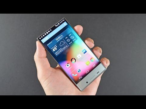 Sharp Aquos Crystal: Unboxing & Review