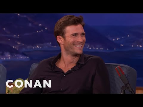 Scott Eastwood's Father Won't Cast Him In His Movies   CONAN on TBS