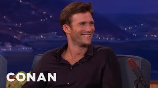 Scott Eastwood's Father Won't Cast Him In His Movies  - CONAN on TBS