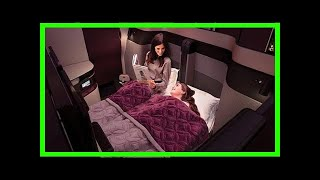 Breaking News | Qatar airways launches double beds in business class
