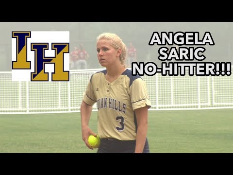 Indian Hills 2 Middletown North 0 | Group 3 Semis | Angela Saric No-Hitter!