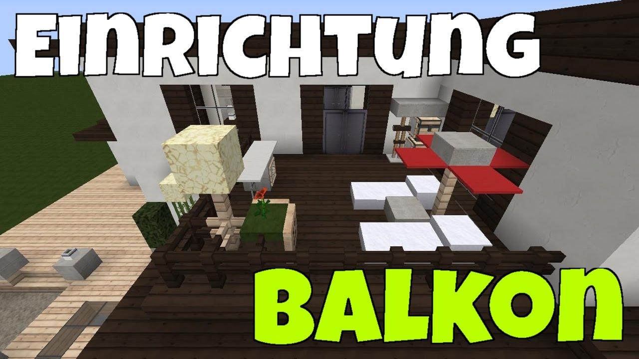 Minecraft luxus haus einrichten part 13 kleiner balkon - Minecraft haus einrichten ...