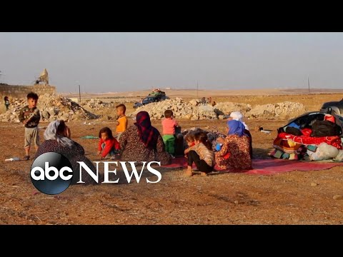 Withdrawal of US troops in Syria underway l ABC News