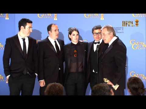 American Hustle Cast - Pressroom - Golden Globes 2016
