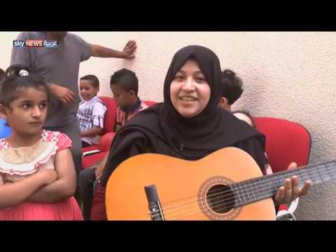 أطفال غزة يستعينون بالموسيقى لمحو آثار الحرب  - 01:25-2017 / 7 / 22