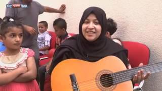 أطفال غزة يستعينون بالموسيقى لمحو آثار الحرب