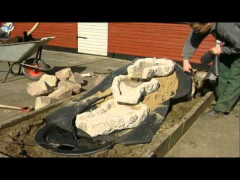 Jespers Planteskole lavvandsten 2013 - YouTube