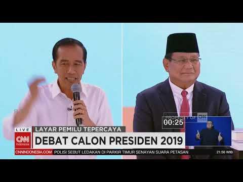 Momen Saat Jokowi Bertanya Tentang Unicorn & Jawaban Ragu Prabowo | Debat Ke-2 Capres 2019,  Seg 5/6