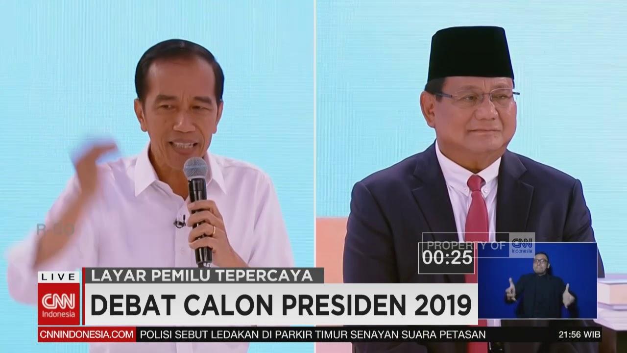 Momen Saat Jokowi Bertanya Tentang Unicorn & Jawaban Ragu Prabowo   Debat ke-2 Capres 2019,  Seg 5/6