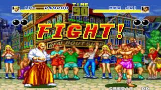 [TAS] Fatal Fury : King Of Fighters - Geese Howard Gameplay