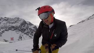 Ski Portillo week of July 3 2017 first days skiing with the cops