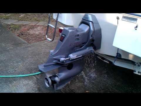 Installing New Hydraulic Trim Hoses on Volvo Penta SX-C Outdrive | FunnyDog.TV